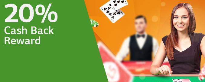 Live Casino brings CASH!