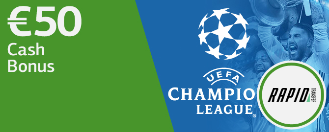 Get some CASH for Champions League!